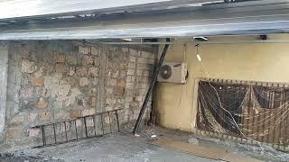 """Մոնտաժ """"Ռոմէրսոն""""ՍՊԸ,Այգեձոր փողոցում , սեկցիոն դարպասներ Alutech ֆիրմայի."""
