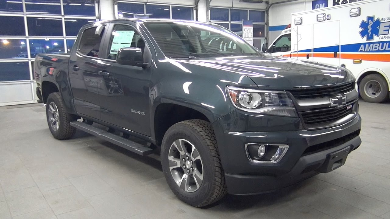 2017 CHEVROLET COLORADO CREW CAB SHORT BOX 4WD Z71 ...