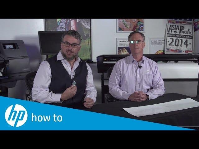 Ocena stanu ostrzy - HP Latex Print&Cut