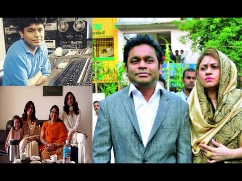 AR Rahman and His Wife Saira Banu and Kids | AR Rahman Family Rare Unseen Pics
