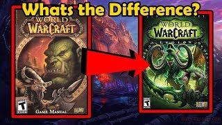 Comparing The Vanilla WoW Game Manual With Current WoW - WCmini Facts