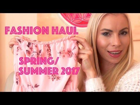 FRÜHLING/ SOMMER FASHION HAUL 2017 - SPRING/ SUMMER FASHION HAUL 2017 - TRY ON - DIE SCHMINKFEE