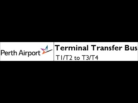 Perth Airport Terminal Transfer Bus: T1/T2 To T3/T4