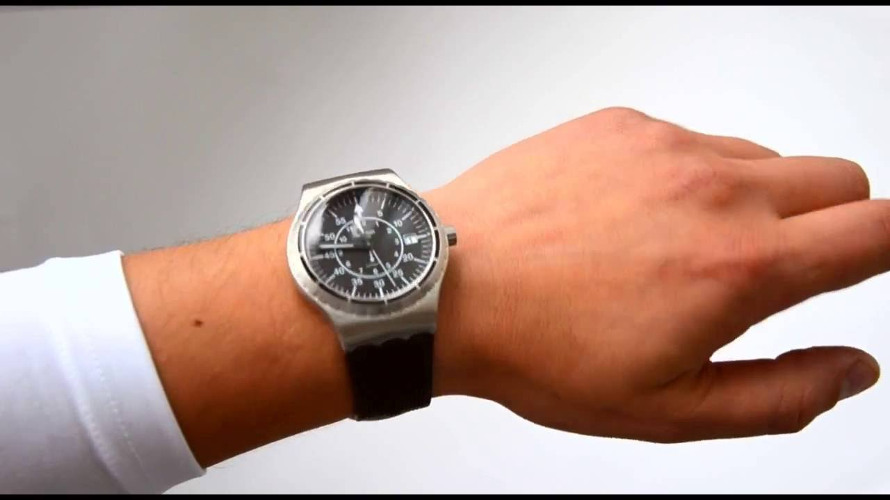 Swatch Sistem51 Sistem Arrow Yis403 Youtube