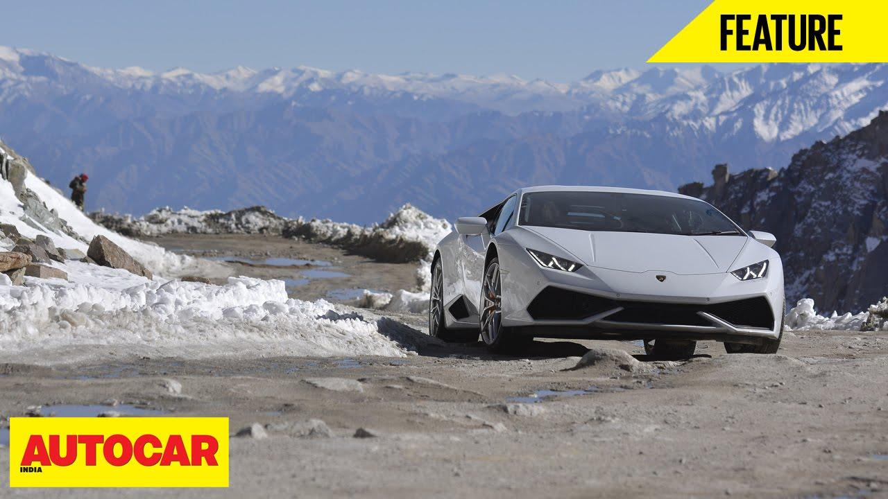 Lamborghini to Khardungla A long way to the top , Feature