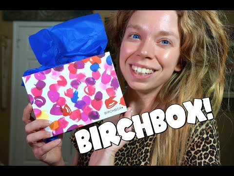 JULY BIRCHBOX! FT. CAN OF WATER!
