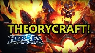 ♥ Heroes of the Storm - Ragnaros  First Impressions & Theorycrafting