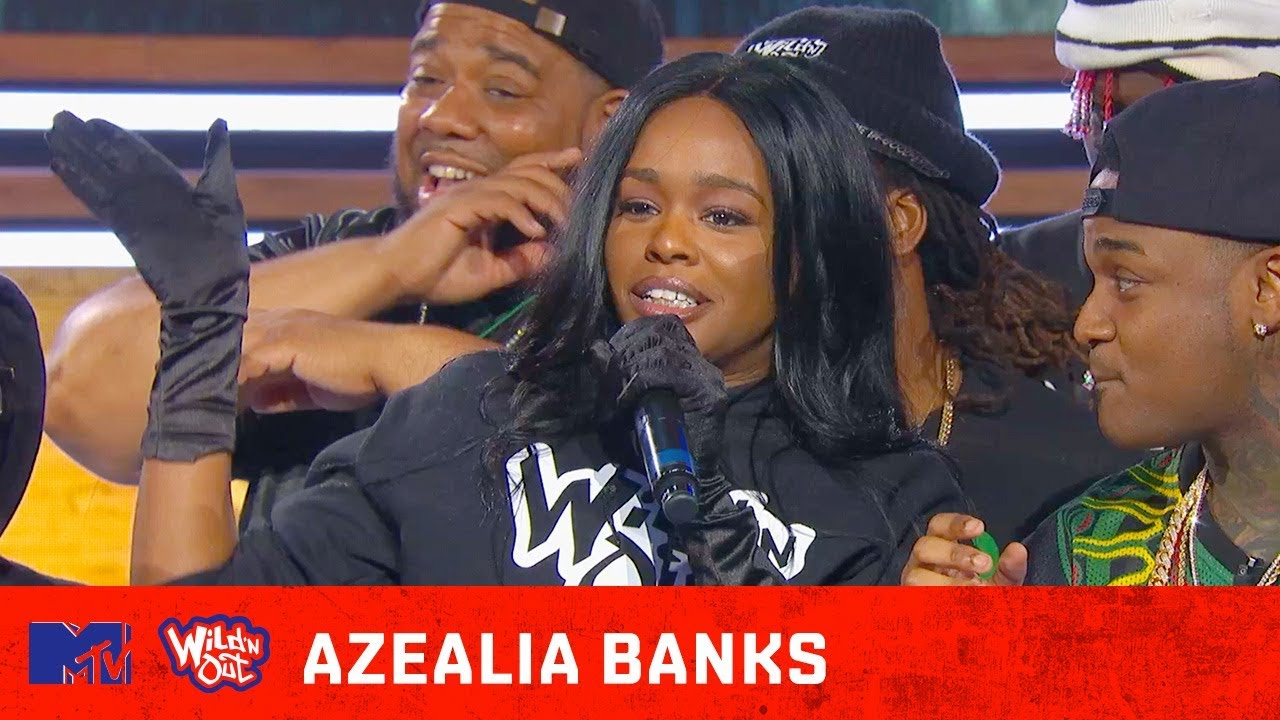 azealia banks cry on wild n out video