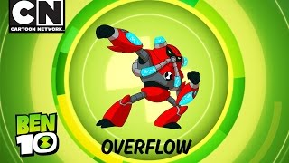 Ben 10 | Aliens in Action: OVERFLOW! | Cartoon Network