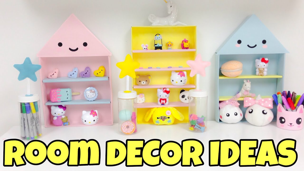 Diy room decor 2016 easy inexpensive ideas youtube for Simple diy room ideas