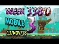 Angry Birds Friends Tournament Level 3 Week 338-D  MOBILE Highscore POWER-UP walkthrough
