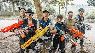 LTT-Nerf-War-Couple-SEAL-X-Warriors-Nerf-Guns-Fight-Criminal-Group-Dr-Lee-Hostage-Protection
