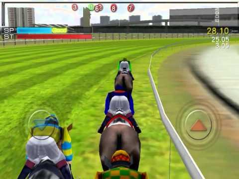 iHorse Racing (mobile) demo race gameplay