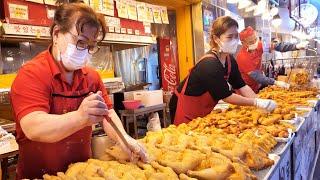 Это популярные корейские традиционные рыночные продукты | Корейская еда на рынке