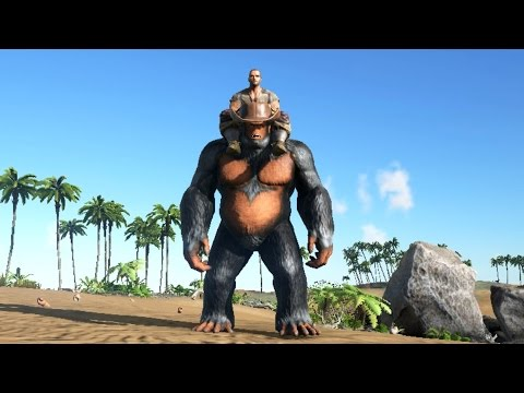 MONKEY MAN IS OP!  Ark Survival Of The Fittest 4  Ark Hunger Games