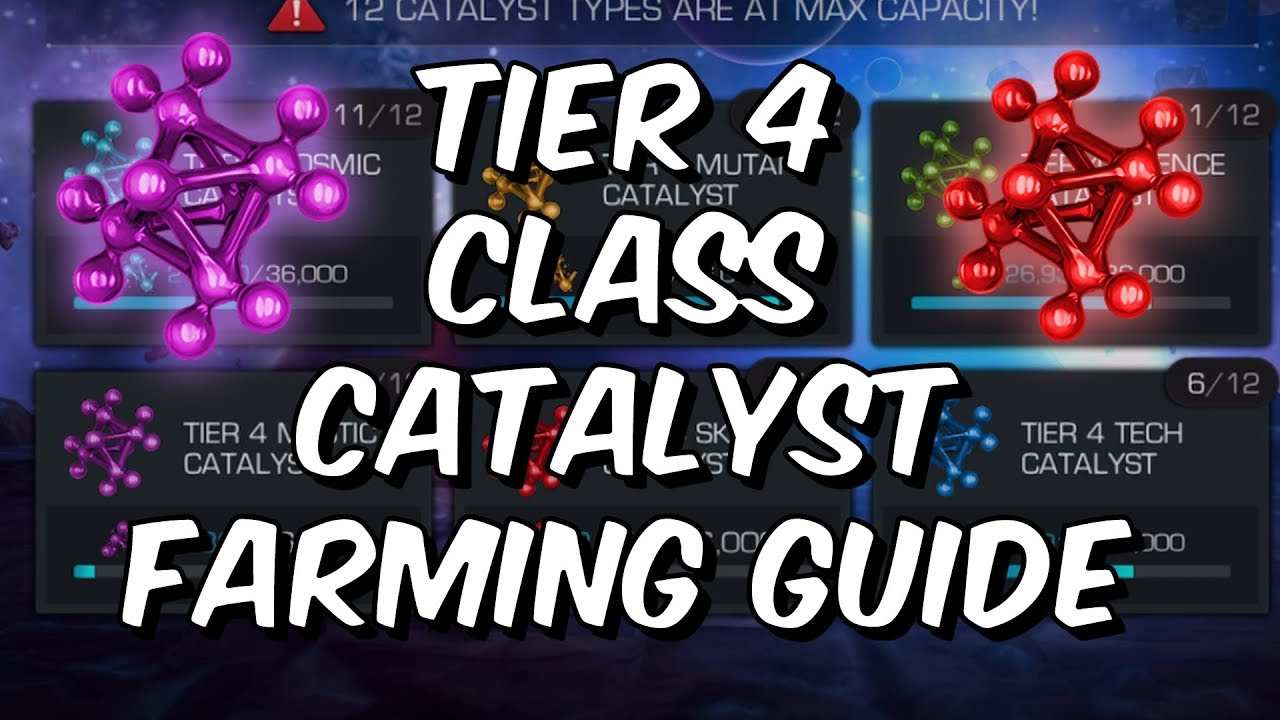 Tier 4 Class Catalyst Farming Guide - How To Get T4CC - Marvel ...