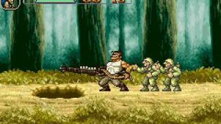 Game Boy Advance Longplay [014] Metal Slug Advance