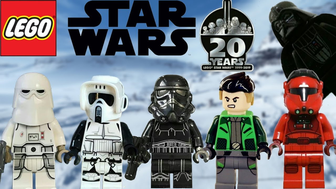 More Great Figures Lego Star Wars April 2019 And 20th Anniversary