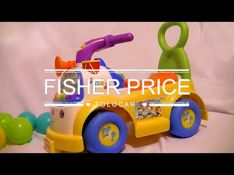 Fisher Price Music Parade Car Walker Tolocar Little People