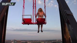 Over the Edge: Europe's highest swing opens up in Amsterdam thumbnail