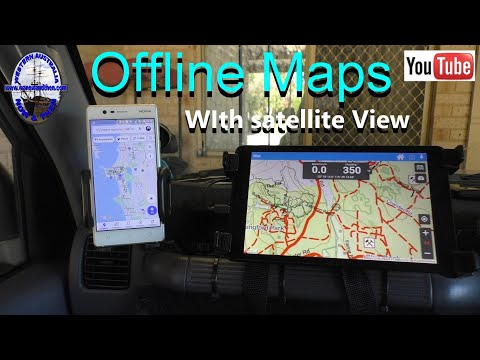 Offline Mapping With Satellite View - Australia Topo Maps App.