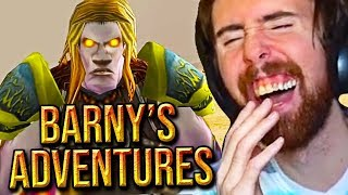 Asmongold LOSES IT While Watching Barny's Classic WoW Adventures