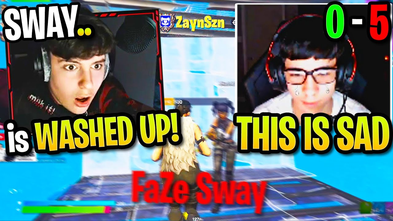 Clix SHOCKED Spectating ZAYNSZN *DESTROY* FaZe SWAY! Biggest UPSET Ever in Fortnite