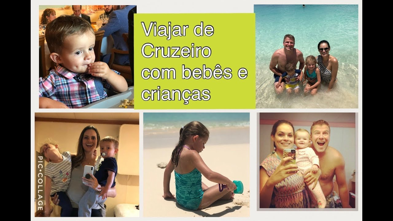 Viagem de Cruzeiro com bebês e crianças! - YouTube 0ca1209150360