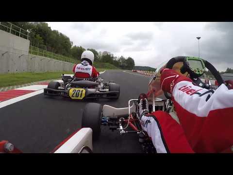 Dominik Javůrek - Třinec SteelRing, 1. Heat, KZ2