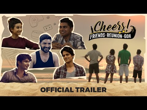 Cheers - Friends. Reunion. Goa | Web Series | Official Trailer | Releasing on 19th Nov | Cheers!