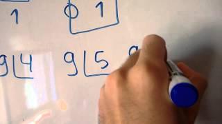 algoritmo para verificar se um numero é primo