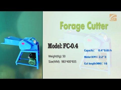 0.4t Animal Ration Shredder Chaff Cutter /Forage Cutter/Silage Chopper for farming equipment