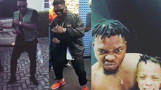 Olamide & His Son Kill Shaku Shaku With New Dance