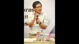 Rocky Gerung Berkomentar Soal Kasus Ratna Sarumpaet