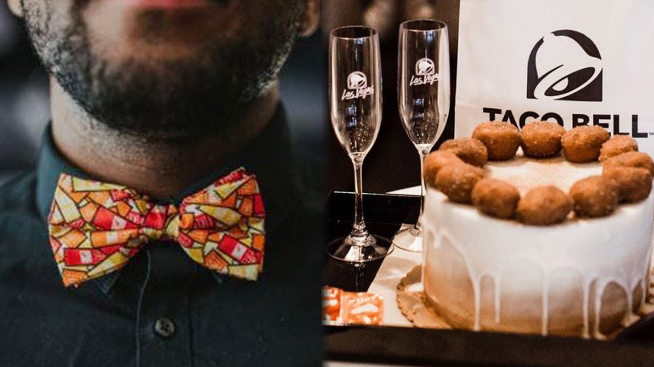 Taco Bell Wedding.Taco Bell Launches Wedding Accessories Line Now Allows Wedding Ceremonies