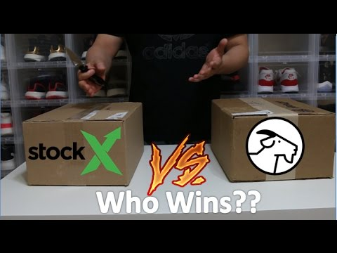StockX VS Goat App Unboxing Everything you need to know