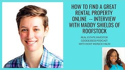Real Estate Investor Goddesses Interview with Maddy Shields of Roofstock