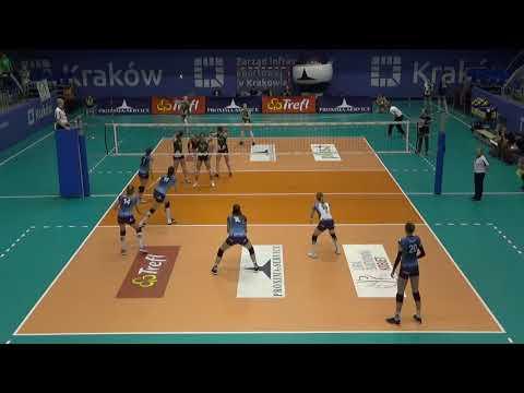 Ewelina Brzezińska OUTSIDE HITTER Polish League 2017-2018 nr 14