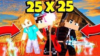 25x25? ОТПРАВИЛИСЬ ЗА СЕКРЕТНЫМИ ЗНАНИЯМИ РАСХИЩАТЬ ГРОБНИЦУ! Minecraft