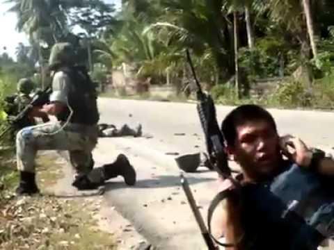 ภาพความเสียสละของทหารไทย