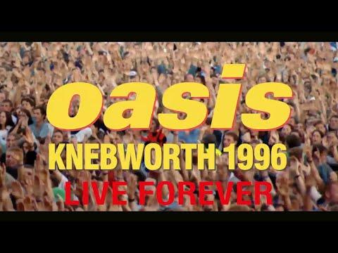 Oasis - Live Forever (Live At Knebworth) [Taken from 'Oasis Knebworth 1996' in cinemas September 23]