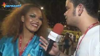 Carnaval 2012: Lucinha Nobre - Porta-bandeira da Portela