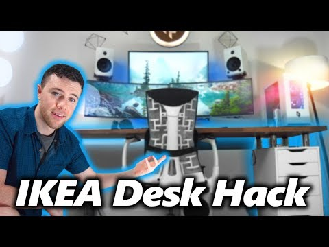 My IKEA Desk Setup - Your Questions Answered!