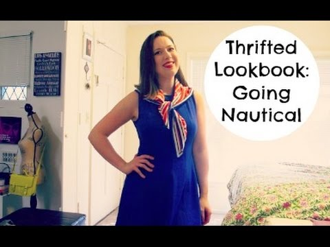 Thrifted Lookbook: Going Nautical
