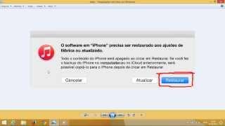 Como resolver o erro 3194 na restauração do iphone
