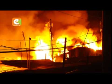 Fire kills 4 at Kijiji slums in Langata, Nairobi