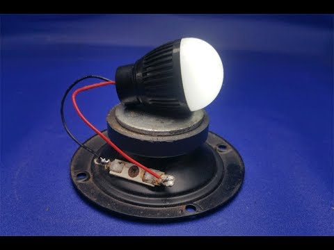 Free Energy Generator in Speaker Magnet simple