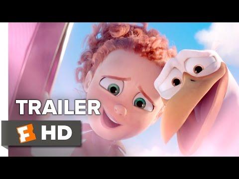 Storks Official Trailer #1 (2016) - Kelsey Grammer Animated Movie HD