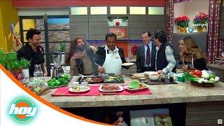 Tacos estilo #LadyWuuu | Chef Oropeza y Lalo Arias | Hoy
