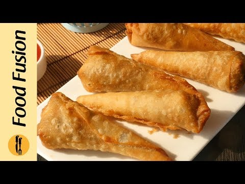 Chinese Cones Recipe By Food Fusion (Ramzan Special Recipe)
